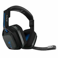 ASTRO A20 Gen 1 Wireless Gaming Headset (Black/Blue) for PS4 & PC