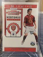 Cesc Fabregas HISTORIC TICKET 2019-2020 Panini Chronicles Soccer Arsenal #HT-CSC