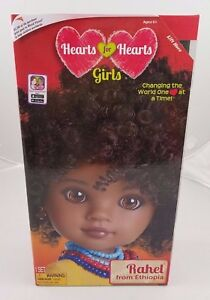Hearts for Hearts Girls Doll Rahel from Ethiopia Hearts 4 Hearts Ethnic 2017 NIB
