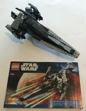 LEGO 7915 Star Wars Imperial V-Wing Starfighter Appears Complete Manual MiniFigs
