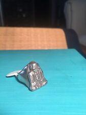 925 sterling silver Budha Ring
