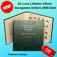 Littleton Folder US Sacagawea Dollars Coin Slipcase Album Holder Book No 1 2000-