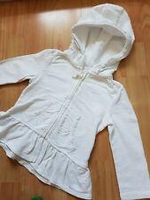 Next Baby Girl White Hoddie Top 12 - 18 Months
