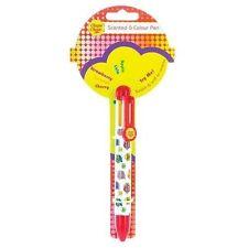 Novelty Retro Gift Chupa Chups Ballpoint Pen Six Scents and Colours