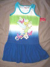 belle robe neuve etiquetée coton disney la fee clochette taille 4 ans