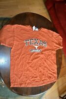 University of Texas Longhorns T-Shirt Adult Size XL Brick Color 100% Cotton inUK