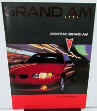 1998 Pontiac Canadian Dealer Prestige Sales Brochure Grand Am English Text