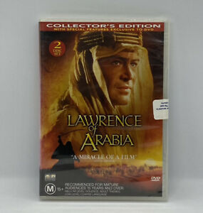 Lawrence of Arabia - Classic Epic Drama DVD - Brand New & Sealed