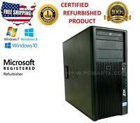 HP Z200 WORKSTATION QUAD-CORE I5 (3.2GHZ) 16GB RAM 1TB HDD WINDOWS 10 PRO