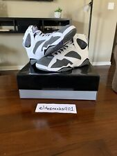 🔥Air Jordan 7 Retro Flint Grey 2021 CU9307-100 Men's Size 12🔥