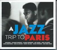 A Jazz Trip To Paris - 40 Various Tracks (2CD 2015) NEW/SEALED