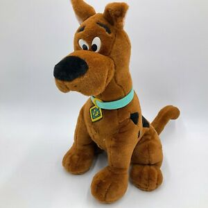 "Scooby Doo Talking Interactive Room Guard Thinkway Plush 15"" Toy 1998 SEE VIDEO"