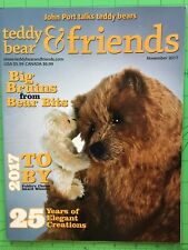 Teddy Bear And Friends Magazine November 2017 issue