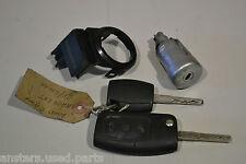 #008 FORD C-MAX 2009 immobilizzatore Anello con chiavi e blocchetto di accensione barile 6E5T-15607-BA