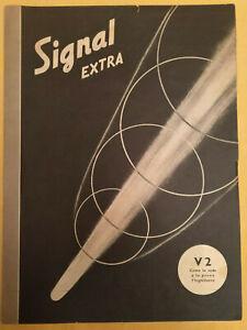"""signal inserto signal extra rivista """" I 6 """" del N° 4 1945 in Italiano"""