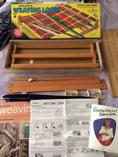 Spears Weaving Loom Size 4 W/Pattern Book & Sheet Directions Needle Bonus Book