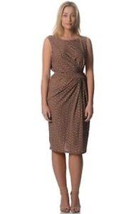 COMFORT by VOK Sleeveless Multi Colour Print Drape Waist Tie Dress Plus Size 26