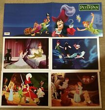 NEW Disney Store Peter Pan Limited Edition Lithograph Set Exclusive 4 Lithos