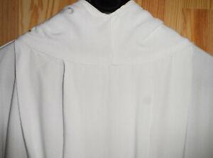 vêtement religieux religion aube blanche  communion communiant taille unique