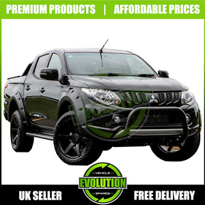 for Mitsubishi L200 Series 5 2016-2019 Wide Wheel Arch Extensions Fender Flares