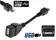 Cable Adaptateur USB Femelle vers Micro USB Male OTG Tablette Smartphone