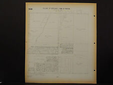 Wisconsin, Waukesha County Map, 1967 Hartland, Merton, 1 Double Sided Page R1#85