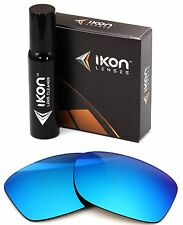Polarized IKON Replacement Lenses Oakley For Hall Pass - Ice Blue
