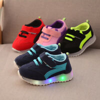 2018 New Baby Sport Shoes for Kids Children Boys Girls Lights Shoes Infant  Size