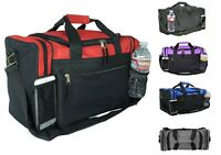 15ccce7eed52 Kids Size Duffle Duffel Bag Travel Gym Bag Carry-On Red Black Blue Gold Gray