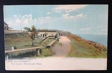 MARBLEHEAD, MASS. C.1905 PC. FORT SEWALL, ROTOGRAPH CO. GERMANY