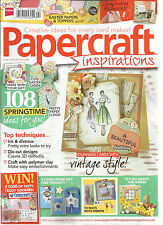 PAPER CRAFT INSPIRATIONS ,  APRIL, 2014  ( 108 SPRINGTIME IDEAS FOR YOU ! )