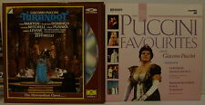 Lot of 2 OPERA LASER DISCS: PUCCINI TURANDOT, PUCCINI FAVOURITES Highlights