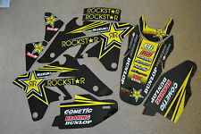 ROCKSTAR FACTORY TEAM SUZUKI  GRAPHICS  RMZ250   2007    2008    2009
