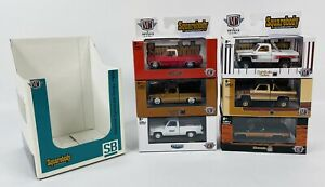 M2 Machines Squarebody Syndicate 2021 Second Release Complete Set Of 6 Trucks SB