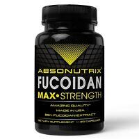 120 veg caps Absonutrix Fucoidan Atlantic Brown Seaweed 500 mg Antioxidant USA