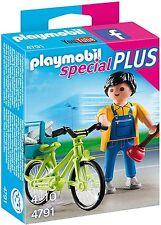 CS4791 Fontanero bicicleta año 2015 4791 playmobil,special plumber with bike