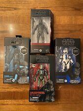 Star Wars Black Series- Stormtrooper Lot (GameStop Exclusives)