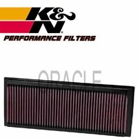 K&N HIGH FLOW AIR FILTER 33-2865 FOR VW SCIROCCO 2.0 TSI 180 BHP 2013-