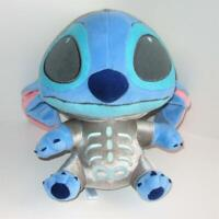Lilo & Stitch Skeleton Plush 13 inch Halloween Costume Disney Silver Ohana RARE