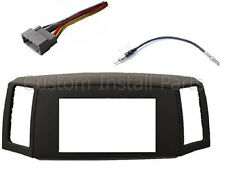 Jeep Grand Cherokee 2005-2007 Double Din Navigation Radio Bezel Dash Install Kit