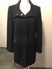 T Tahari 12 Wool Blend Coat Black