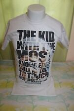 The Kid with the Most Knowledge Mighty Healthy Men's White T Shirt Size Small