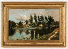 Edmund Darch Lewis (1835-1910) Landscape Painting Lot 9
