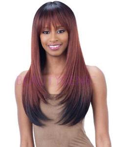 Freetress Equal Synthetic Hair Lace Front Wig Hand Tied Italian Lace Bang BRISA