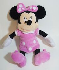 DISNEY MINNIE MOUSE Soft Pink PLUSH DOLL Toy LARGE 15""