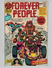 The Forever People 1  -  1st Full Appearance of Darkseid with Superman 1971 VG