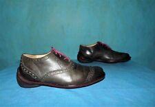 6bfcaa5ef114f8 chaussures a lacets MARITHE FRANCOIS GIRBAUD tout cuir marron vieilli p 41  fr