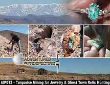 MINING TURQUOISE for JEWELRY & GHOST TOWN RELIC HUNTING DVD