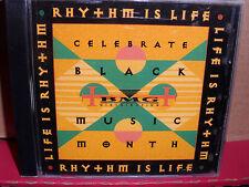 Life is Rhythm PROMO CD Rare R&B Nikki Kixx CASUAL Extra Prolific BLACKGIRL Swv
