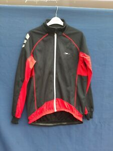 CRANE RED/BLACK THERMAL JACKET  SIZE MED cycling jacket Full zip